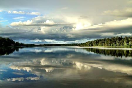 Lakeside house - stunning views - Norra Fjälla - 一軒家