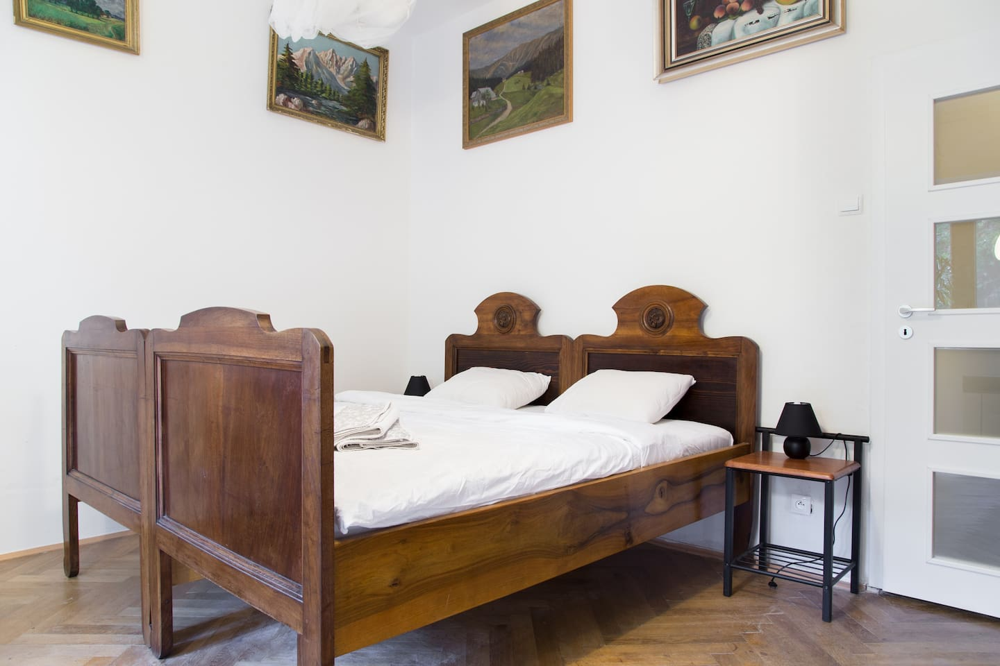 Antique bed that is more than a century old