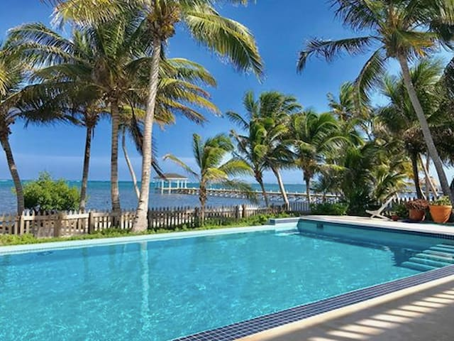 New! 3 Bdrm Ocean Front Home with Private Pool