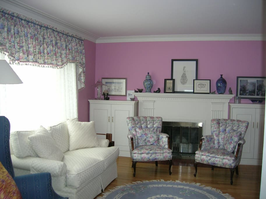 Guests can relax in the Living Room