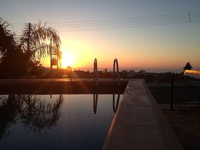 enjoy the amazing sunrise
