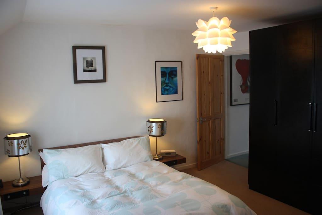 Good quality bedding and a comfortable night sleep.