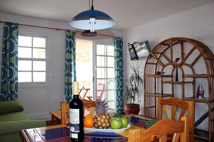 Apartamento El Roque.vistas al mar  - Puerto de Naos - Appartement