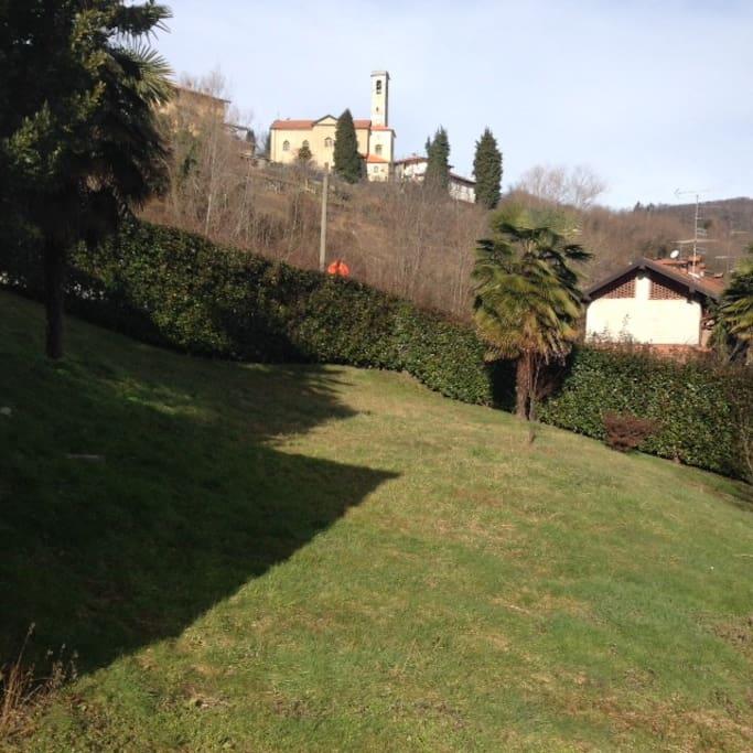 giardino dove potersi rilassare