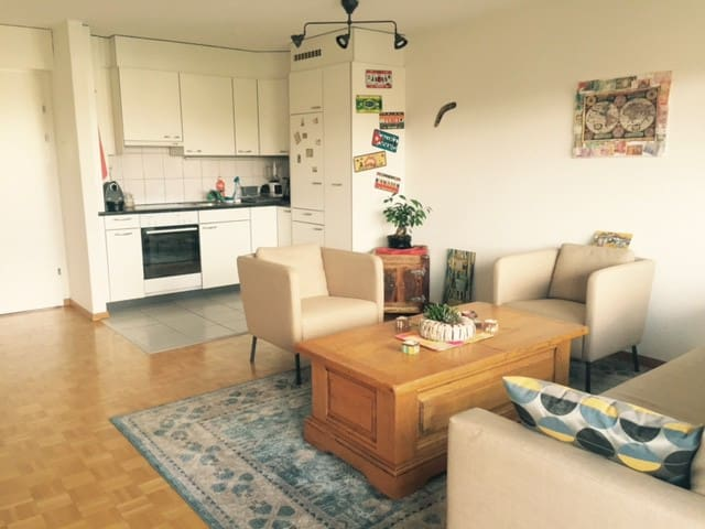 Nice apartment in Biel close to Bern - Bienne - Huoneisto