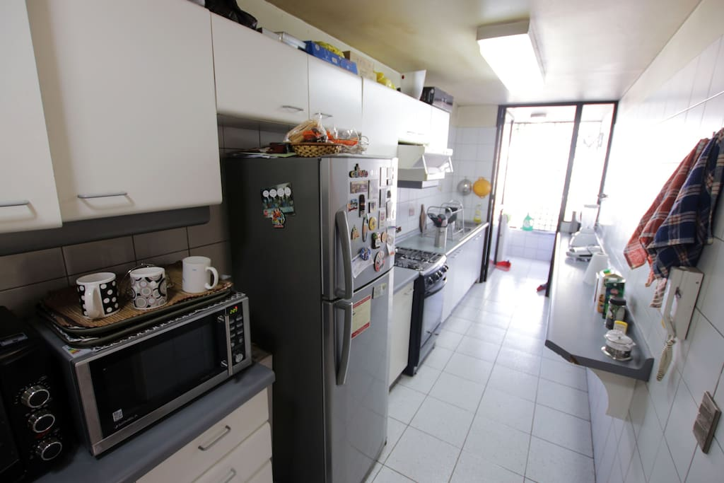 a Big Kitchen!