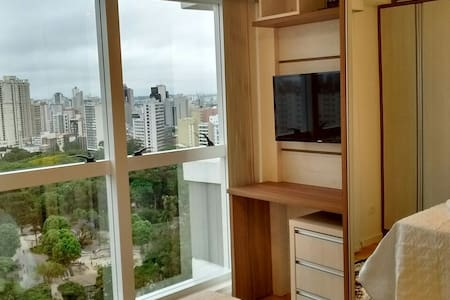22nd floor right in front of Mueller Mall -Welcome - Curitiba - Appartamento