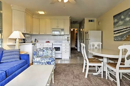 Lovely 1BR Hilton Head Condo w/ Private Balcony - Hilton Head Island - Departamento