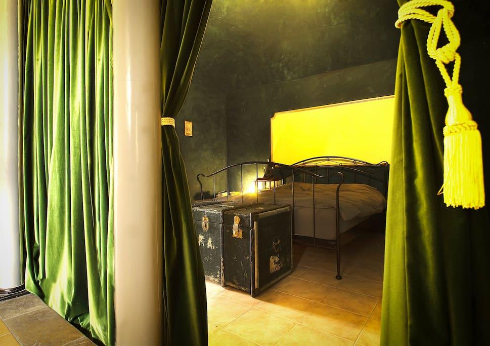 Alcova Master Bedroom