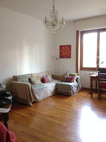 AMPIO APPT. 90mq/TERRAZZA/OTTIMO PER MILANO FIERE - Saronno - Apartamento