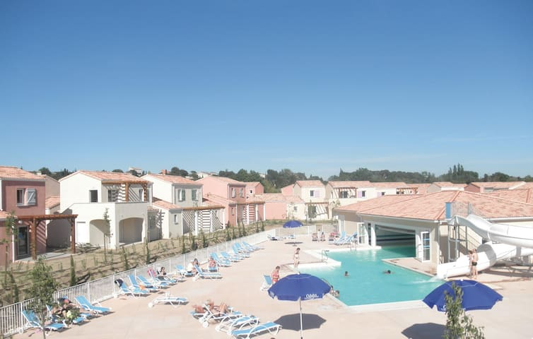 Holiday apartment with 1 bedroom on 30 m² in Le Paradou