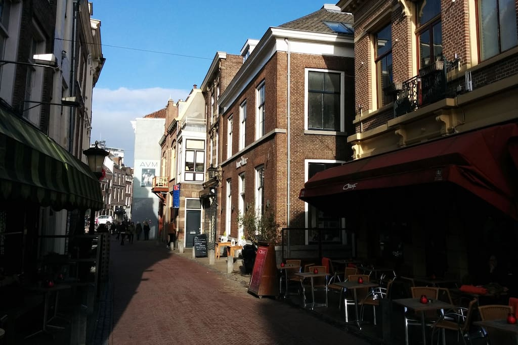 Located in the old center where the city of Utrecht originate