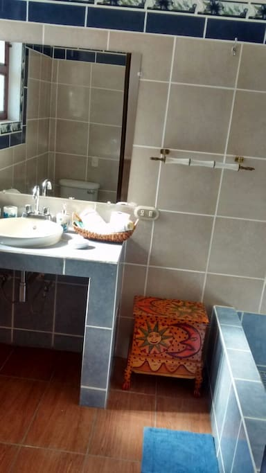 In-room private bathroom