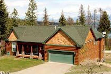 Majestic Home Above Flathead Lake - Lakeside