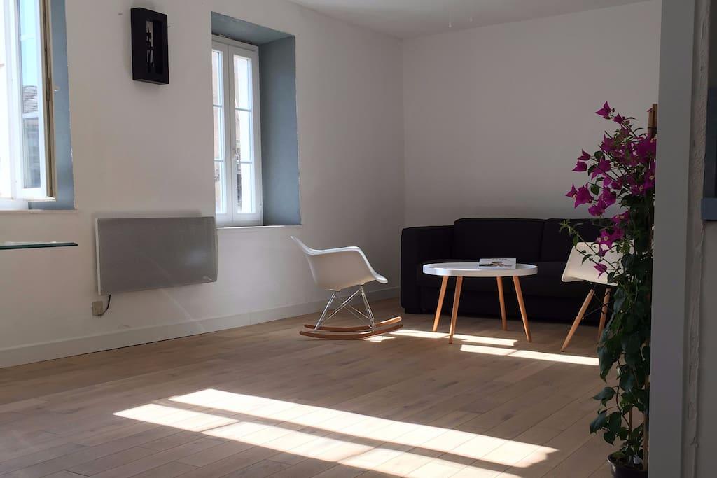 Chaleur du chêne brut, Design & Confort