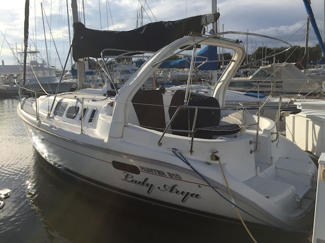 Fully Equipped 31' sailboat - Kemah - Loď