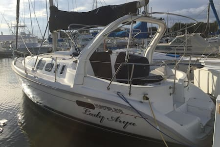 Fully Equipped 31' sailboat - Kemah - Boat