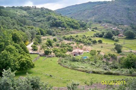 Casa rústica en Gredos con piscina y barbacoa - Aldeanueva de la Vera