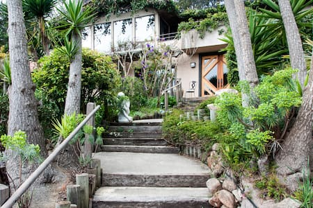 4BR/3.5BA Hilltop Garden Estate - 贝尔韦代雷蒂伯龙(Belvedere Tiburon) - 独立屋