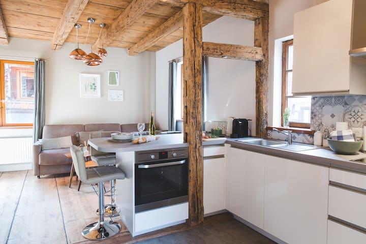 Maison Hissla Alsace Cuivre & Bois