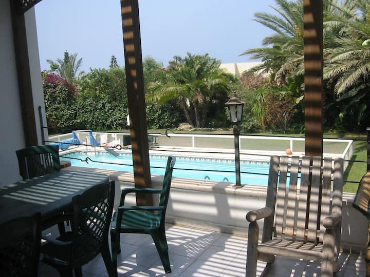 Beautiful 8 BR Kosher Villa with Lovely Sea Views