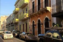 Colorful streets in Old San Juan