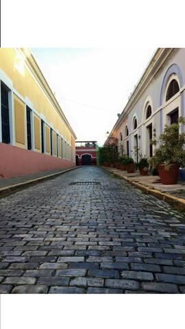 Visit Old San Juan in 15 minutes. Spanish tiles construction