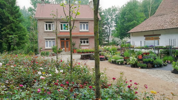 Rose nursery B&B Val des Roses - Room 1