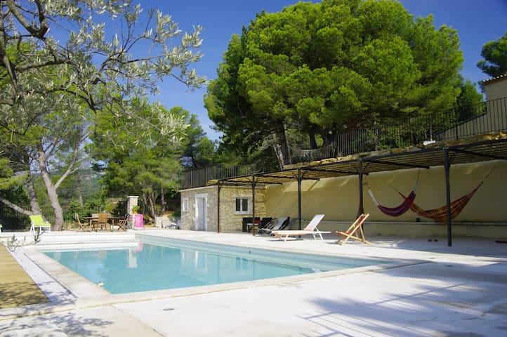 Gîte de charme en Drôme Provençale - Roussas - Leilighet