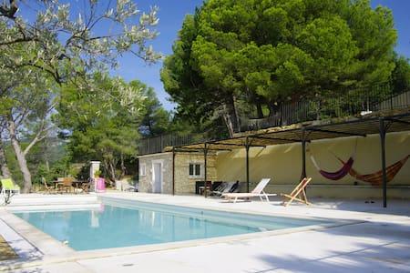 Gîte de charme en Drôme Provençale - Roussas - Wohnung