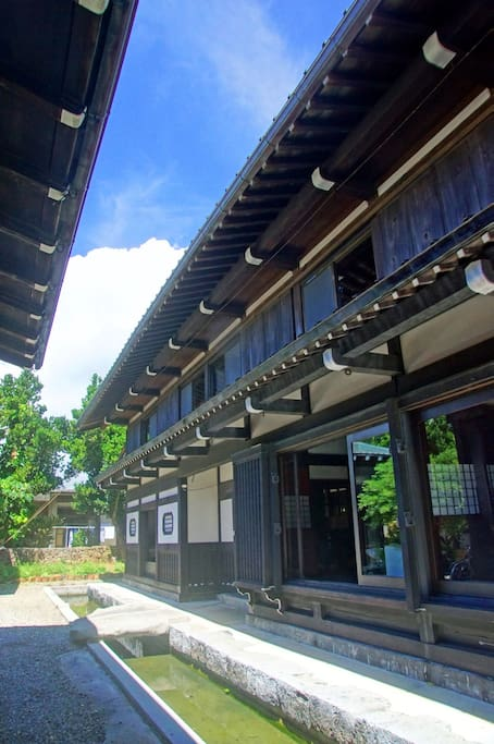A typical 100 years old Japanese house