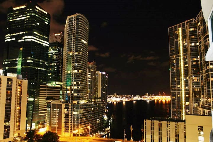 FREE Parking - Luxury 2Floor Loft-BayFront+Skyline - Miami - Apartament