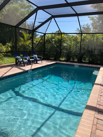 Private heated swimming pool with many upscale features that only a newer pool can offer!