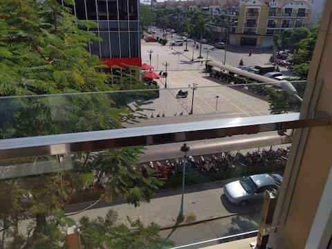 Căn hộ siêu rộng 55m2 đối diện siêu thị Vincom