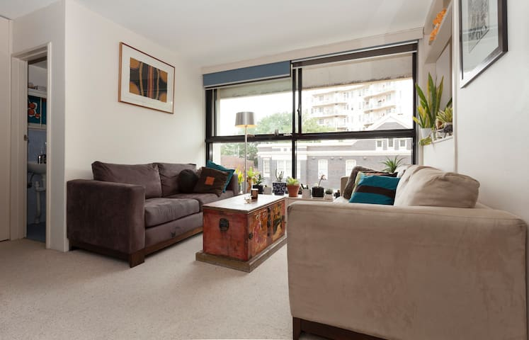 Open, light, central. Great value. - Potts Point - Wohnung