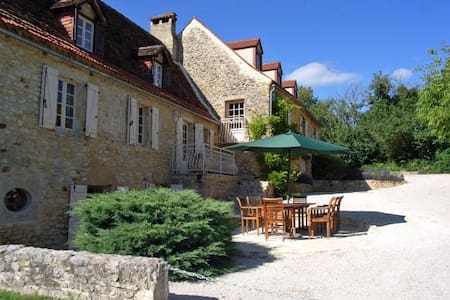 La Grange at Serres, Payrac, France - Payrac - Rumah