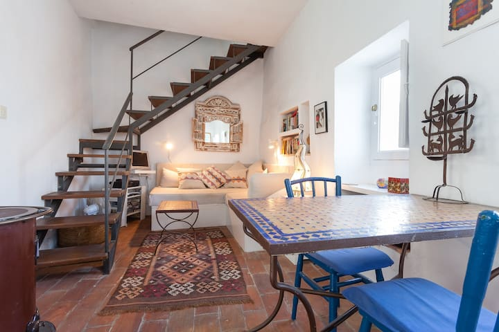 Romantic  hilltop townhouse for 2. - Vejer de la Frontera - Maison