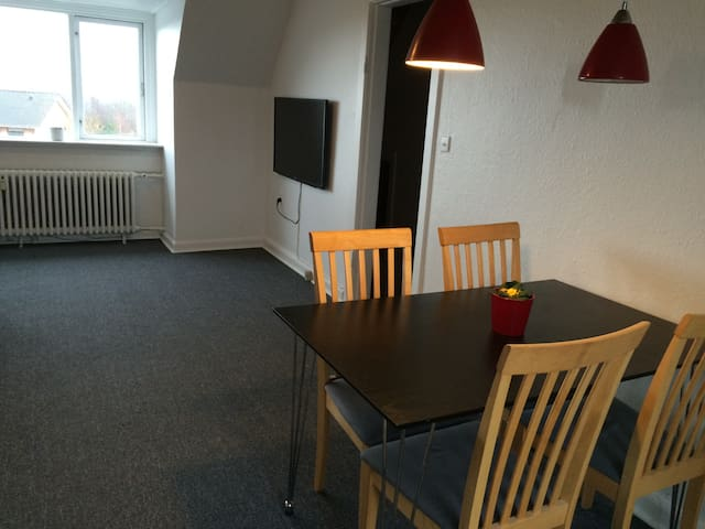 Lovely apartment with roof terrace - Esbjerg - Wohnung