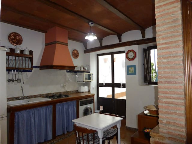 Casa de los Baños 1 dormitorio - Cazalla de la Sierra - Huis