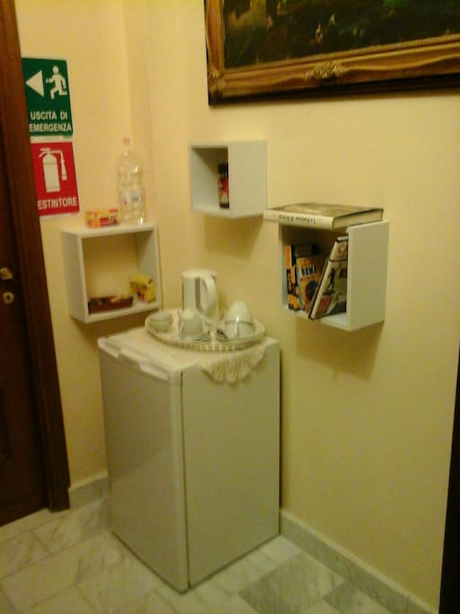 Tea and coffee corner at guest's disposal!