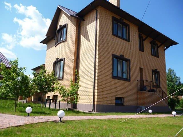 Новый дом с сауной - Myshetskoye - Casa