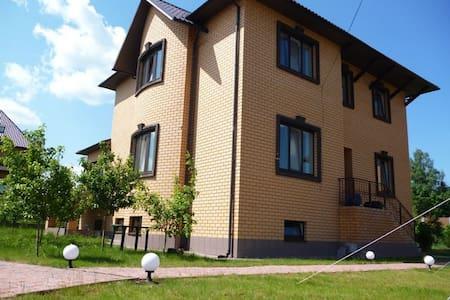 Новый дом с сауной - Myshetskoye - Ház