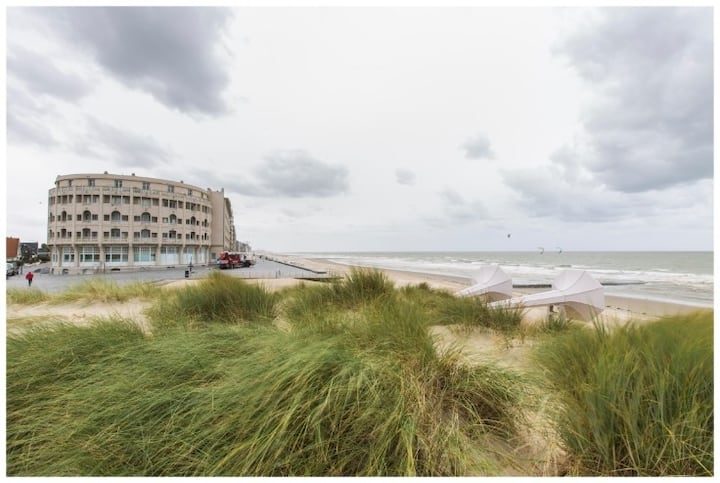 Northsea Westende - stay in an iconic building