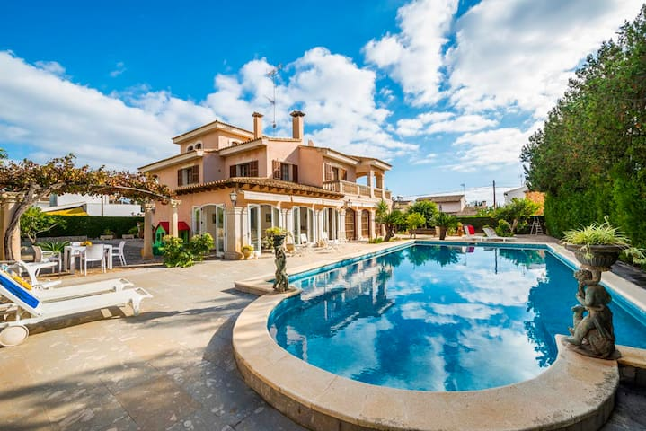 Can Pou - amazing estate with pool in Cala Millor - Cala Millor - Rumah