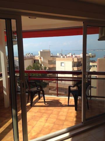 Уютная квартира с видом на море - Salou - Apartment