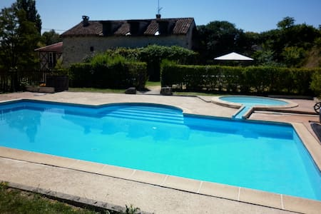 13th Century Gite with private pool - Thénac