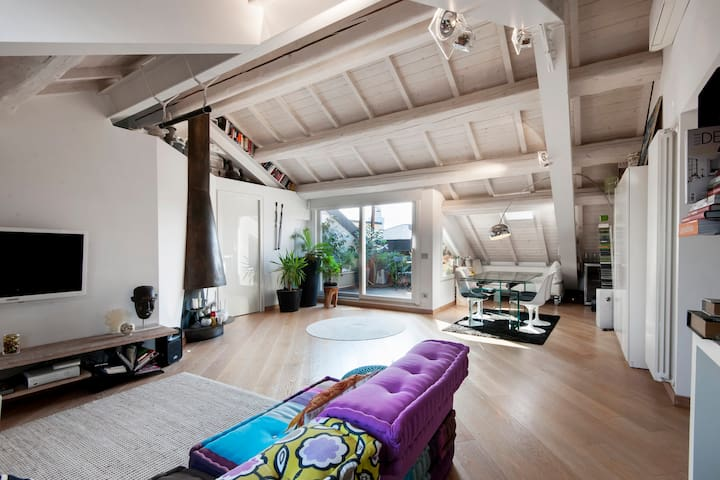 SuperWhite Loft&terrace in Brera