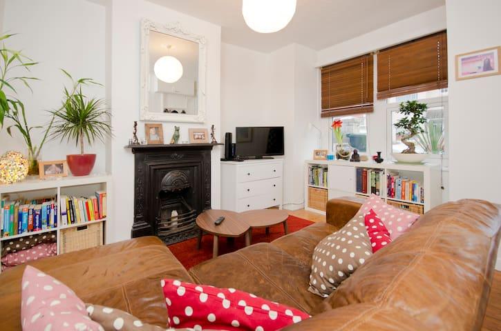 Charming 2 Bed Garden Flat Brighton - Brighton - Apartemen