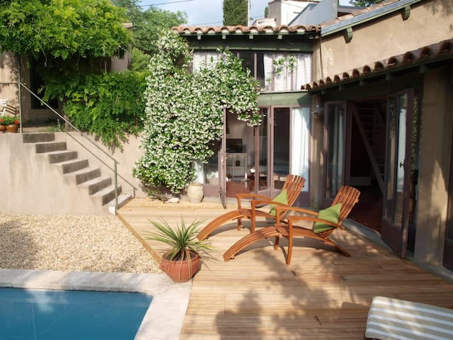 Holiday cottage of charm - Sommières - Loft