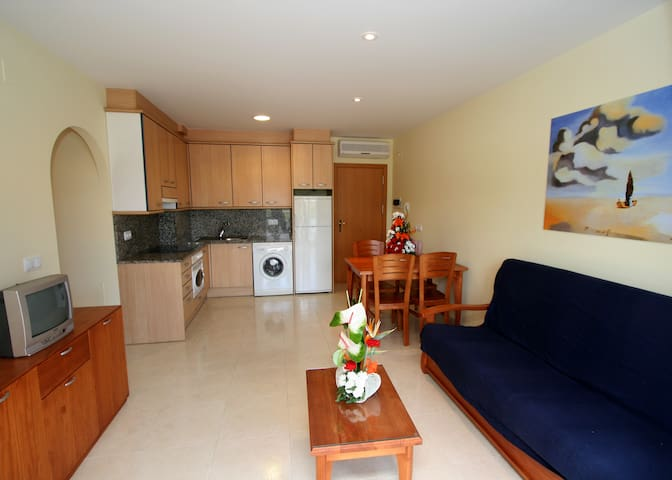 Apartamento Daniel 1H Bajo A - Roses - Apartemen